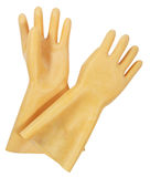 Rubber Gloves Royalty Free Stock Photos