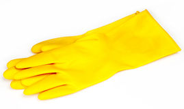 Rubber gloves Stock Image