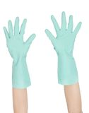 Rubber gloves Royalty Free Stock Photography