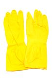Rubber gloves Stock Image