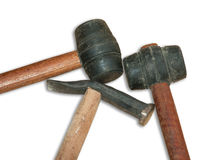Rubber hammer Royalty Free Stock Images