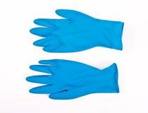 Rubber handschoenen stock afbeeldingen
