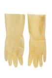 Rubber Handschoenen royalty-vrije stock afbeelding