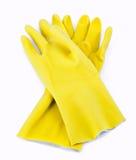 rubber handskar Arkivbild