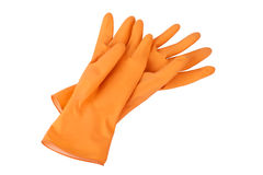 rubber handskar arkivfoto