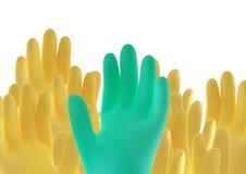rubber handskar Arkivfoton