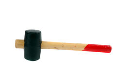 Rubber-headed mallet Royalty Free Stock Images
