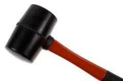 Rubber houten hamer Stock Foto