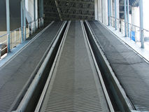 Rubber industrial conveyer Stock Images