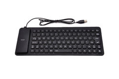 Rubber  keyboard Royalty Free Stock Photography
