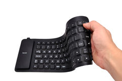 Rubber  keyboard Royalty Free Stock Photos