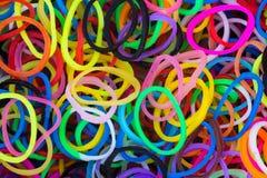 Rubber Loop Rings Royalty Free Stock Photos