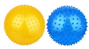 Rubber massage ball Royalty Free Stock Photo