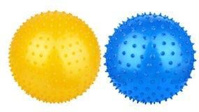 Rubber massage ball Royalty Free Stock Photo