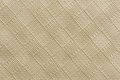 Rubber Mat Texture. Of raised squares with alternating lines and dots royalty free stock photography