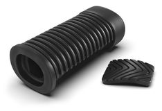 Rubber pedal pads Royalty Free Stock Image