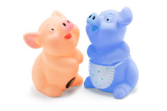 Rubber Piggies Royalty Free Stock Photos
