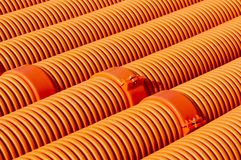 Rubber pipe Stock Image