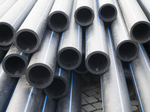 Rubber pipes Royalty Free Stock Photo