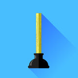 Rubber Plunger Stock Image