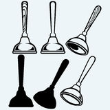 Rubber plunger. Vector Stock Photography