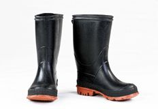 Rubber Rain Boots. Stock Photography