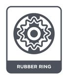 rubber ring icon in trendy design style. rubber ring icon isolated on white background. rubber ring vector icon simple and modern stock illustration