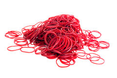 Rubber ring loops Royalty Free Stock Photos