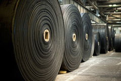 Rubber rolls Stock Images