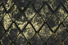Rubber romb på skeppsdockan royaltyfri fotografi