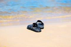 Rubber sandals Stock Photos