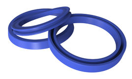 Rubber sealing Royalty Free Stock Images