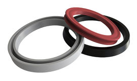 Rubber sealing Stock Photography
