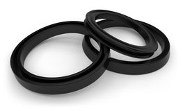 Rubber sealing Stock Photos