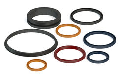 Rubber Sealing rings Royalty Free Stock Image