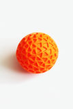 Rubber sensory ball of bright color Stock Image