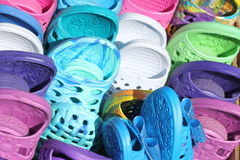 Rubber shoes Stock Photography
