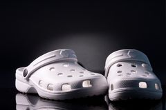 Rubber slippers Royalty Free Stock Photography