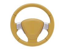 Rubber Sport Steering wheel Royalty Free Stock Photography
