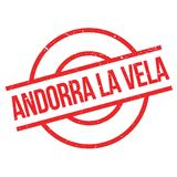 Rubber stämpel för Andorra LaVela royaltyfri foto