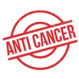 Rubber stämpel för anti-cancer royaltyfri illustrationer