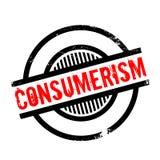 Rubber stämpel för Consumerism stock illustrationer