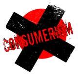 Rubber stämpel för Consumerism royaltyfri illustrationer