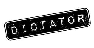 Rubber stämpel för diktator stock illustrationer