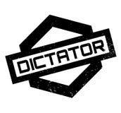 Rubber stämpel för diktator royaltyfri illustrationer