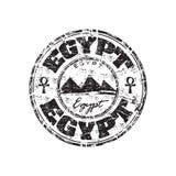 rubber stämpel för egypt grunge vektor illustrationer