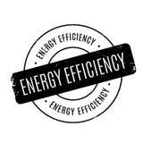 Rubber stämpel för energieffektivitet vektor illustrationer