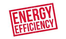 Rubber stämpel för energieffektivitet stock illustrationer