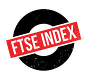 Rubber stämpel för Ftse index royaltyfri illustrationer