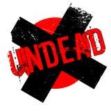 Rubber stämpel för Undead vektor illustrationer